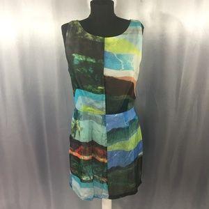 Rag & Bone Tribeca printed silk dress